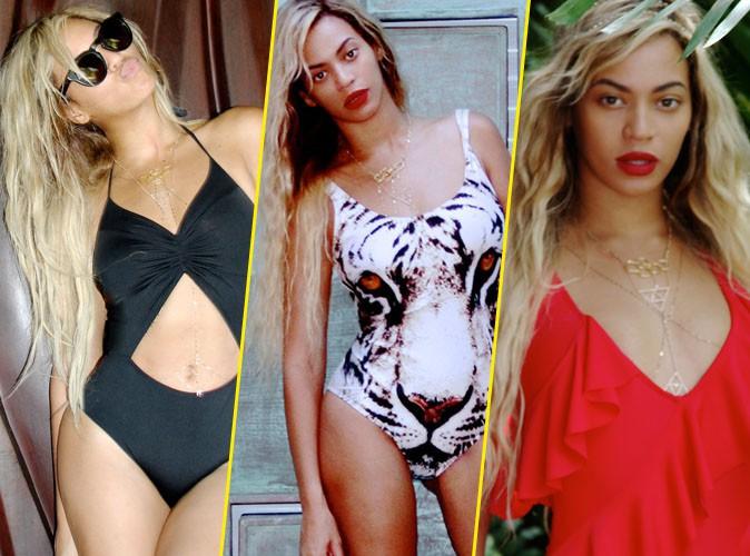 Beyoncé : le maillot une pièce dans tous ses états !