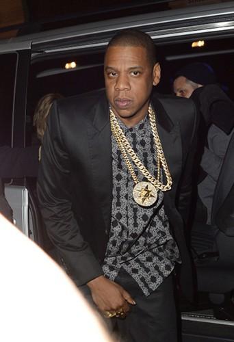 Jay-Z à Londres le 1er mars 2014