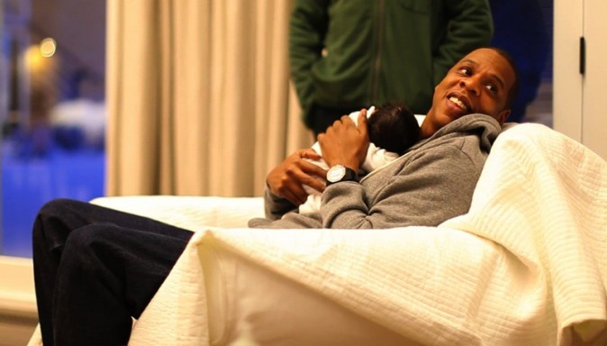 Image rare de Jay Z