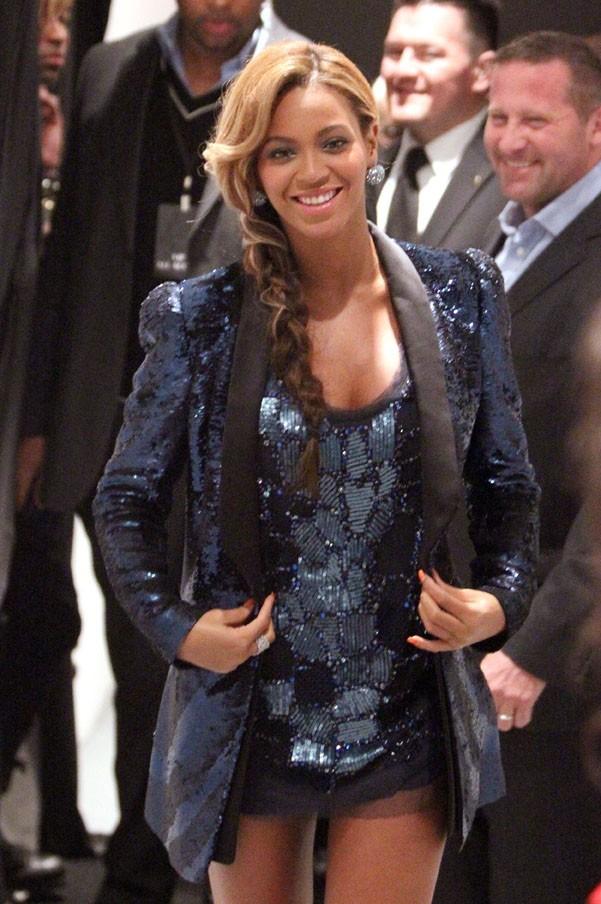 Beyoncé fait son arrivée !