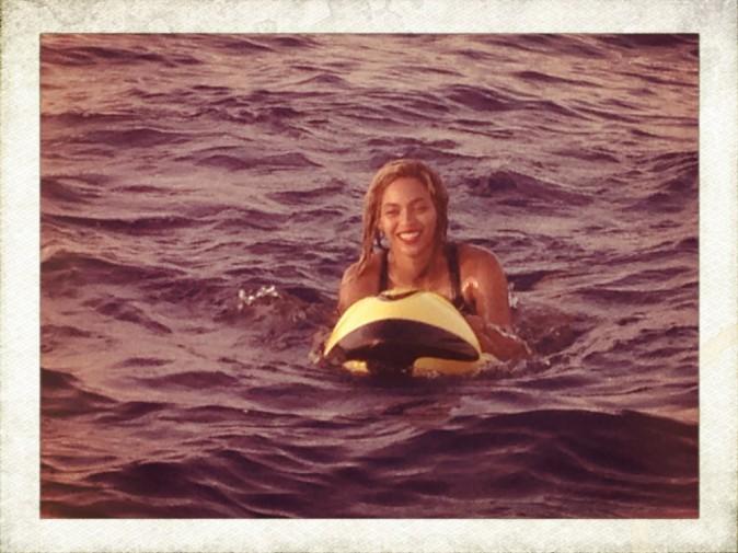 Beyoncé joue les sirènes en Méditerranée !