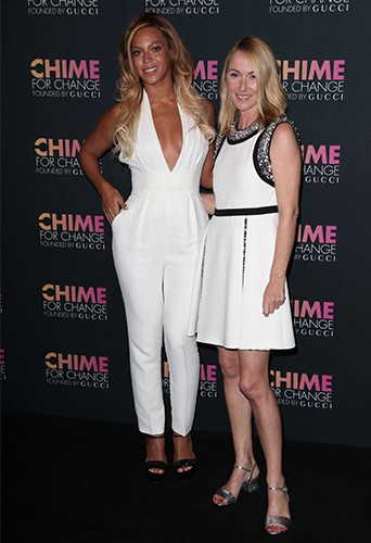 """Beyoncé et Frida Gianni fêtent les 1 an de la campagne internationale """"Chime for Change"""" !"""