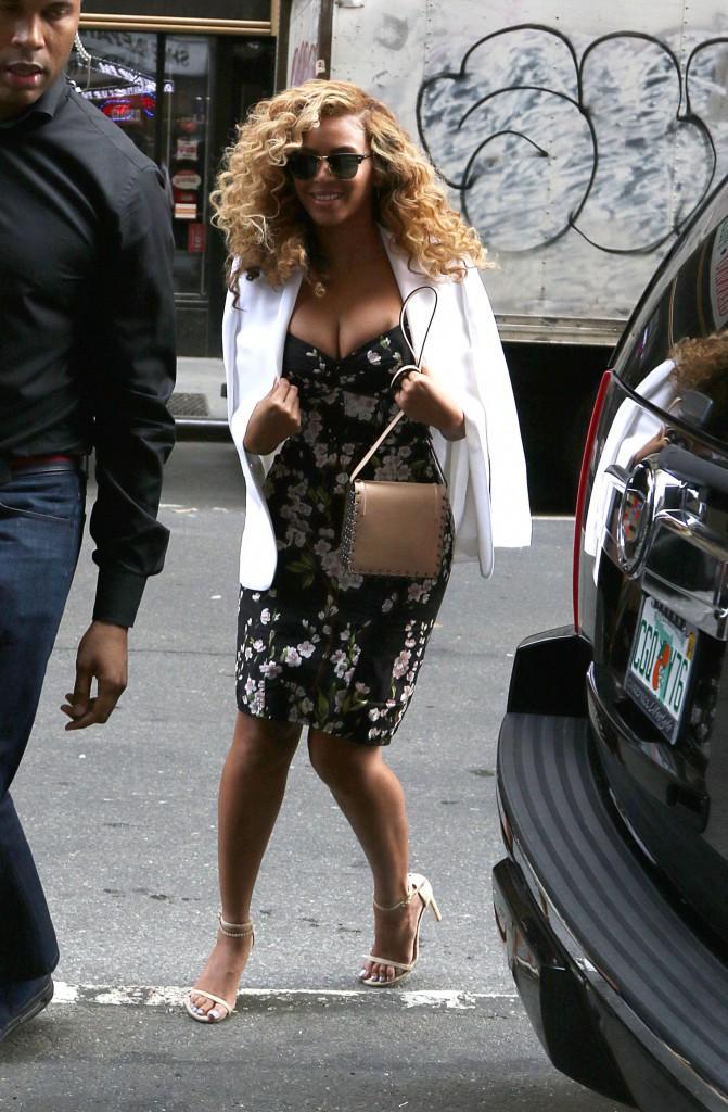 Beyoncé le 27 juillet 2015