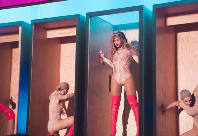 Beyoncé le 5 septembre 2015