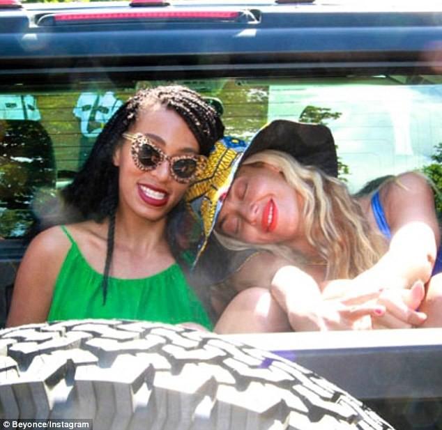 Beyoncé et sa soeur Solange Knowles !