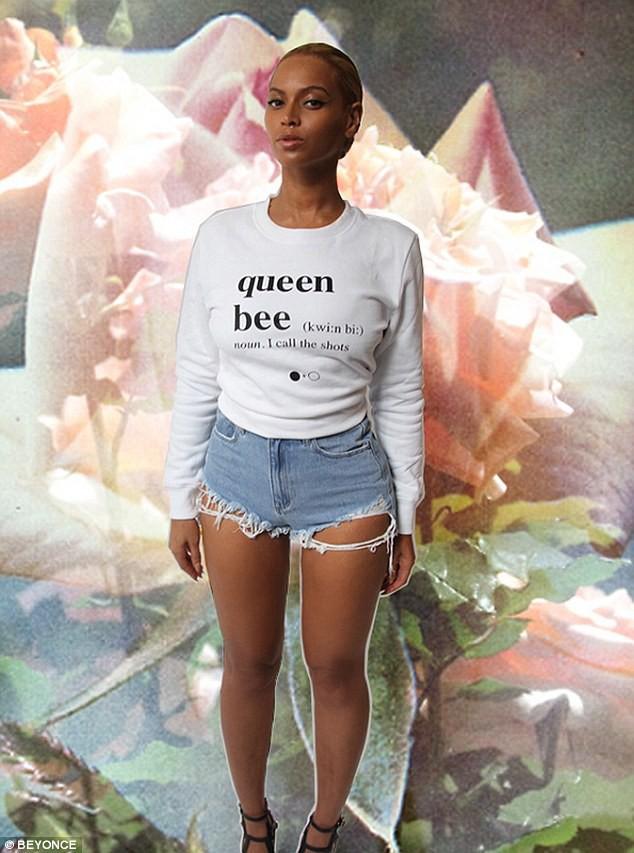 Beyoncé le 22 mai 2015