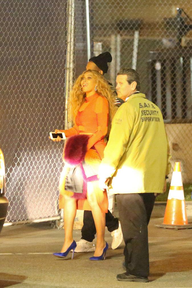 Beyoncé et Jay-Z au Super Bowl 2016
