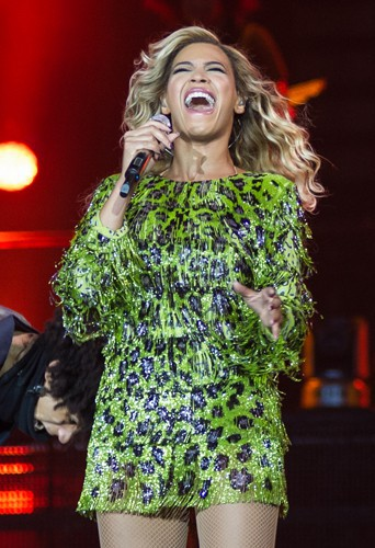 Beyoncé à Birmingham le 24 février 2014