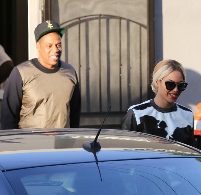 Jay-Z et Beyoncé à West Hollywood le 6 décembre 2013