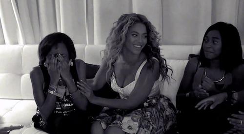 Photos : Beyoncé vous aime ! Si vous ne le saviez pas, regardez cette vidéo !