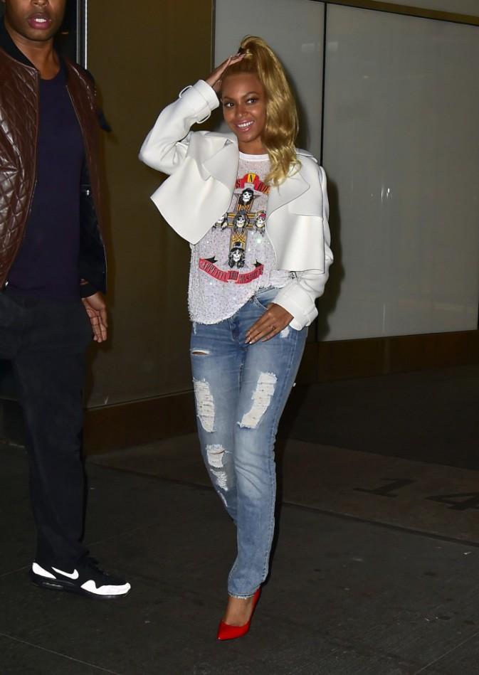 Beyoncé le 5 mai 2015