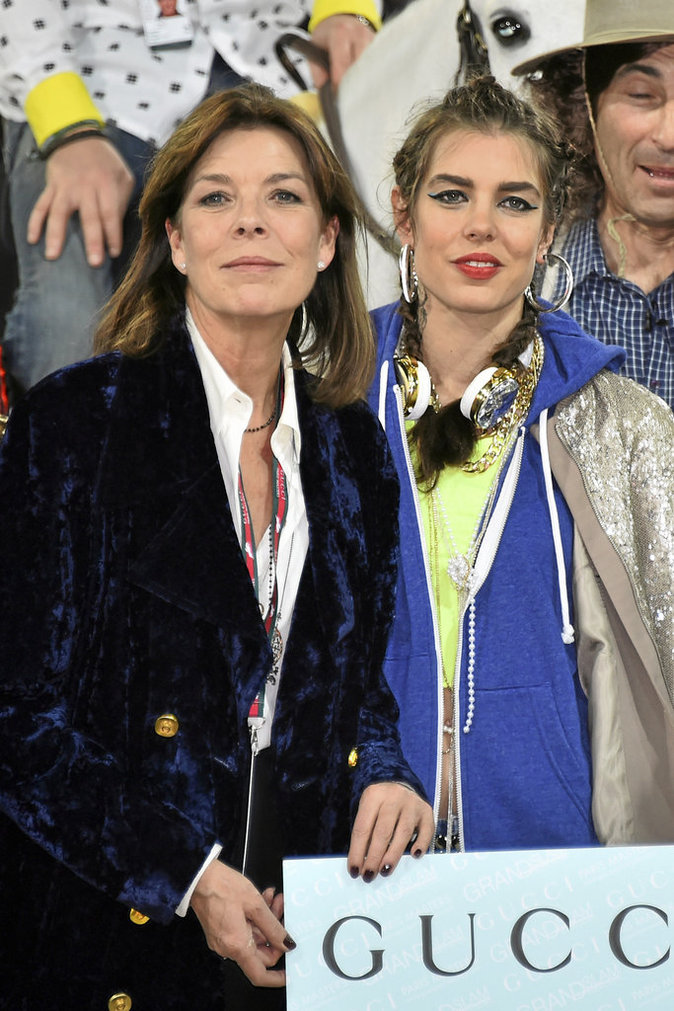 Caroline de Monaco et Charlotte Casiraghi