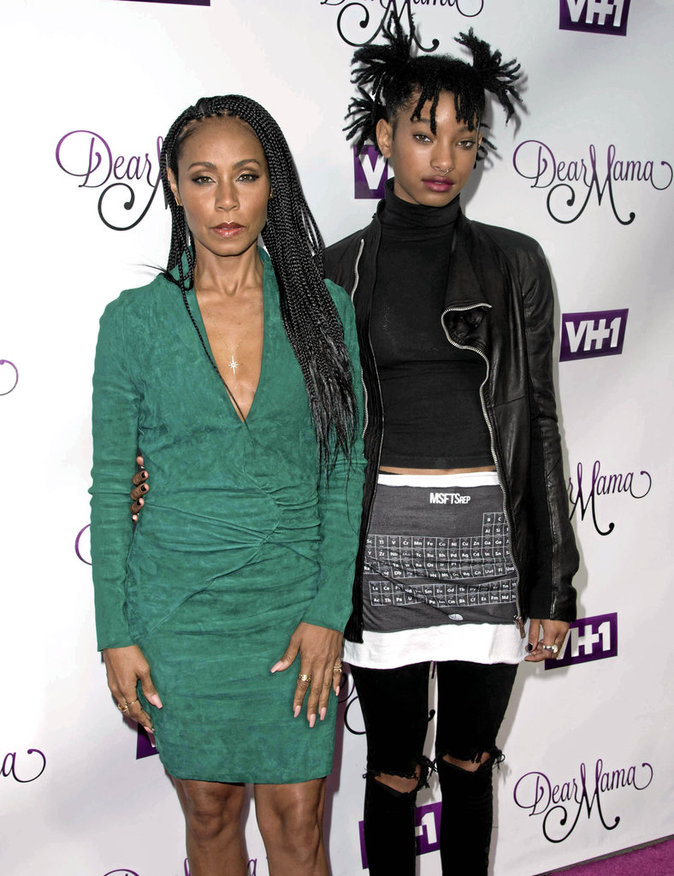 Jada Pinkett et Willow Smith