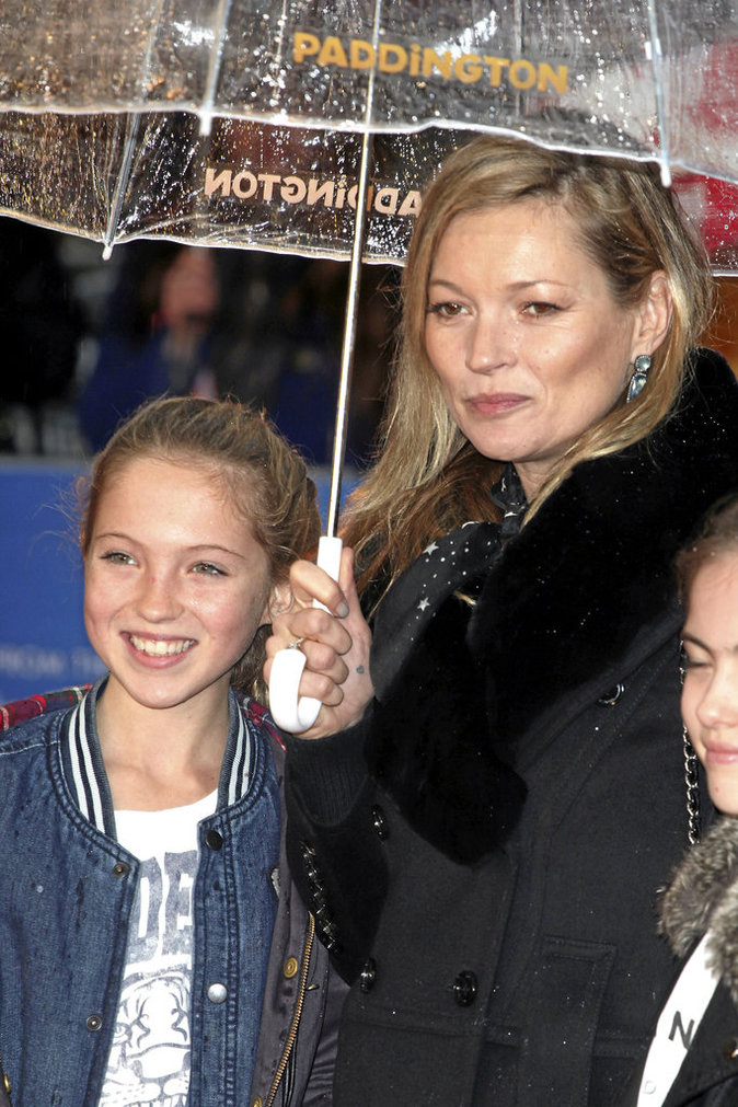 Kate Moss et Lila Grace