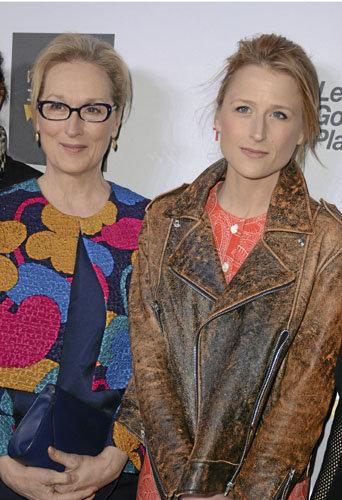 Meryl Streep et Mamie Gumer