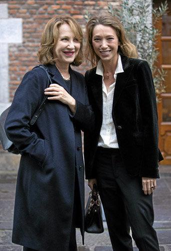 Nathalie Baye et Laura Smet