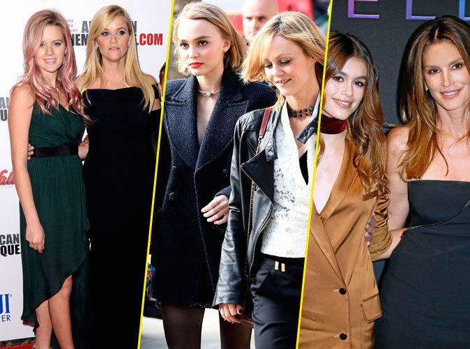 Big Dossier Public : Reese et Ava, Vanessa et Lily-Rose, Cindy et Kaia... Telle mère, telle fille !