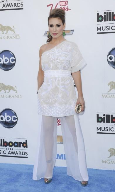 Alyssa Milano le 19 mai 2013 à Las Vegas