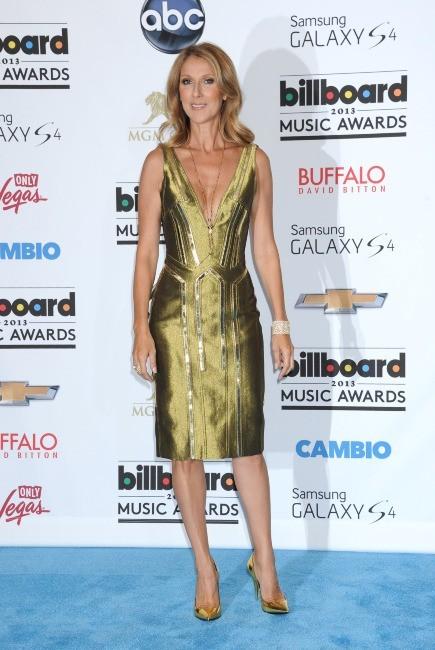 Céline Dion lors de la cérémonie des Billboard Music Awards à Las Vegas, le 19 mai 2013.