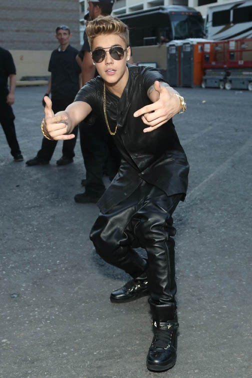 Justin Bieber à la cérémonie des Billboard Music Awards le 19 mai 2013 à Las Vegas