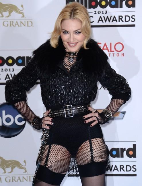 Madonna lors de la cérémonie des Billboard Music Awards à Las Vegas, le 19 mai 2013.