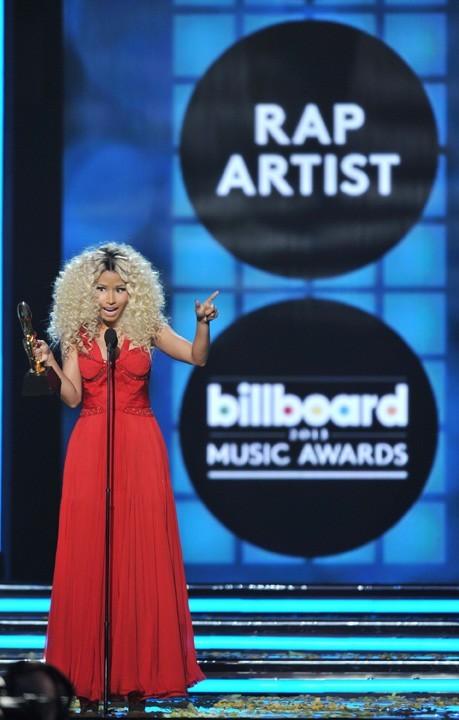 Nicki Minaj lors de la cérémonie des Billboard Music Awards à Las Vegas le 19 mai 2013