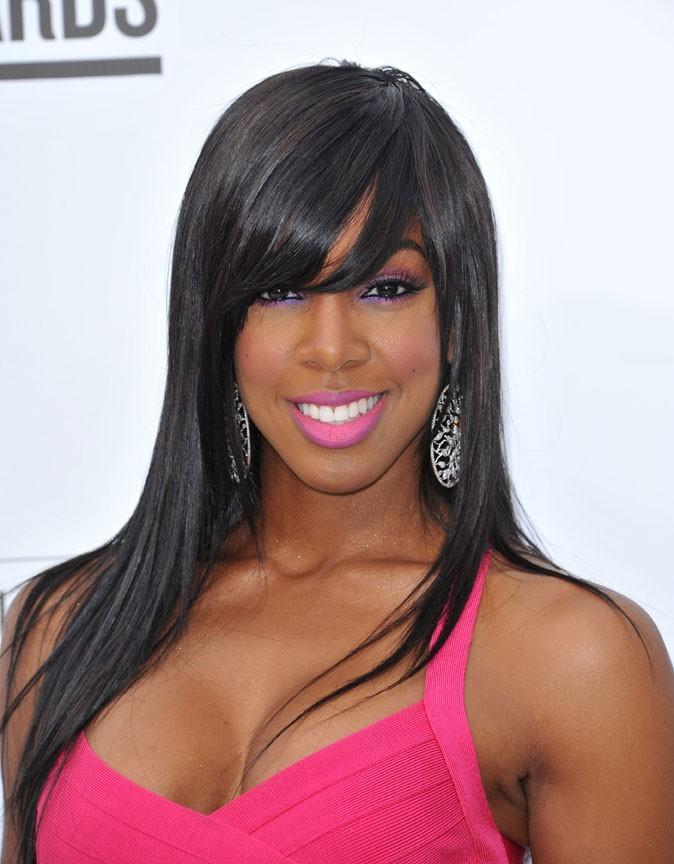 Joli choix de couleurs pour Kelly Rowland !