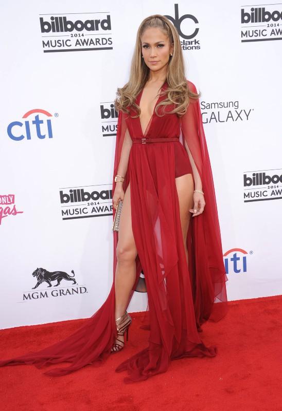 Jennifer Lopez lors de la soirée des Billboard Music Awards à Las Vegas, le 18 mai 2014.