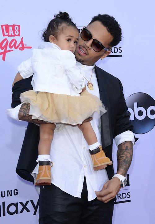 Photos : Billboard Music Awards 2015 : Chris Brown : premier tapis rouge avec Royalty !