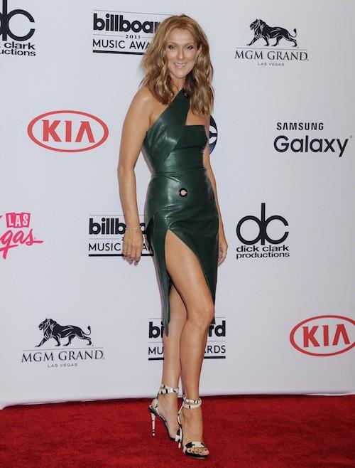 Céline Dion lors des Billboard Music Awards, à Las Vegas, le 17 mai 2015