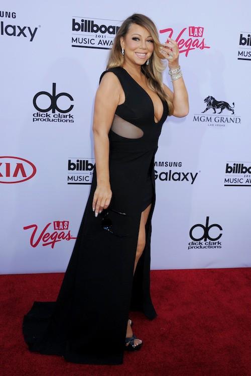 Mariah Carey lors des Billboard Music Awards, à Las Vegas, le 17 mai 2015