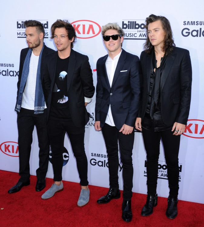 "Photos : Billboard Music Awards 2015 : les One Direction dédient leur prix à leur ""frère"" Zayn Malik !"
