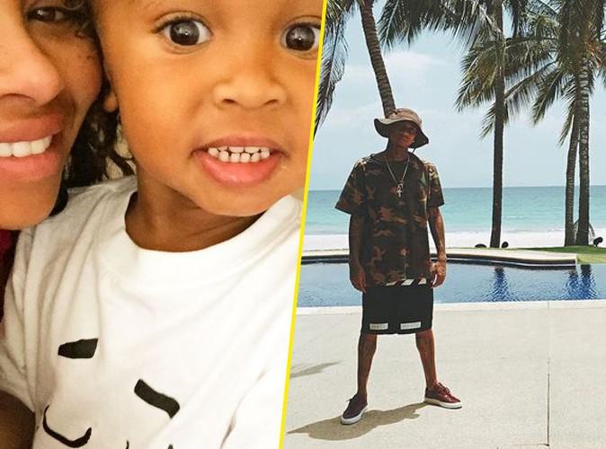 Blach Chyna gaga de son fils tandis que Tyga passe du bon temps au Mexique