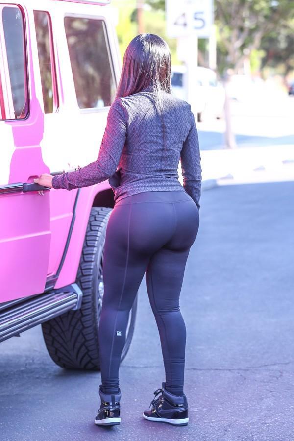 Blac Chyna à Los Angeles le 25 mars 2015