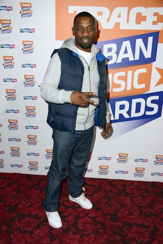 Passi à la soirée Trace Urban Music Awards, à Paris le 22 octobre 2014