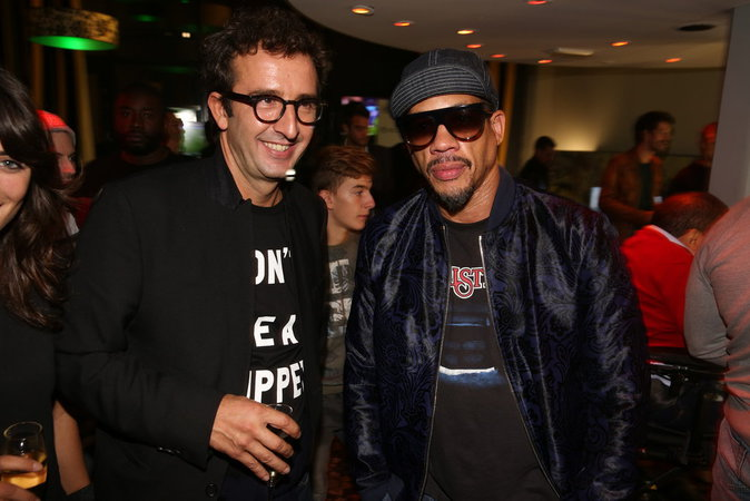 Cyrille Eldin et Joey Starr