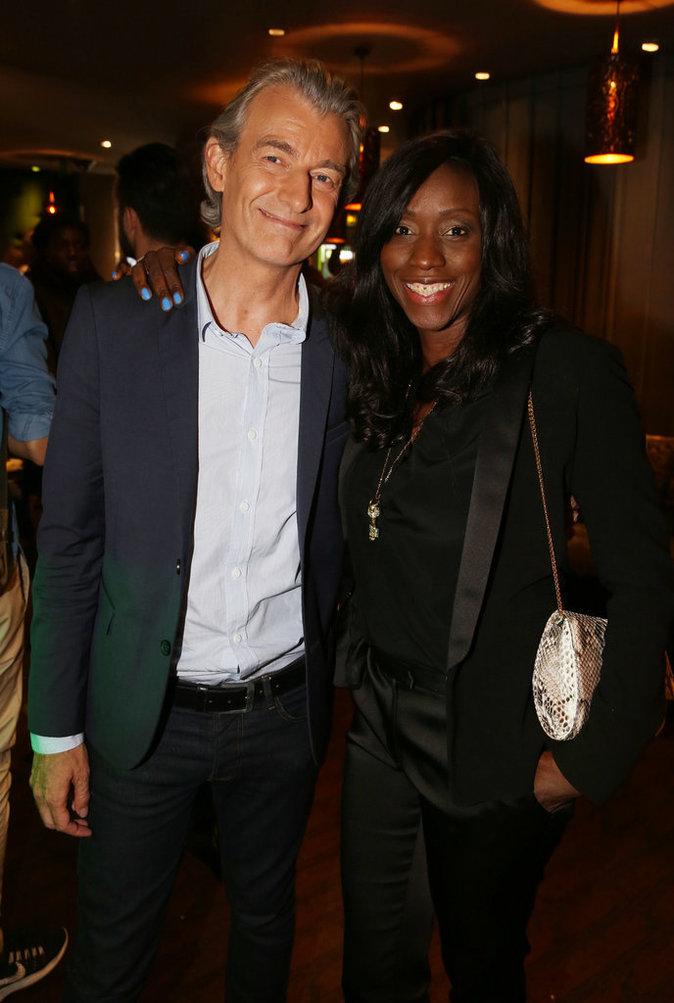 Gilles Verdez et sa femme