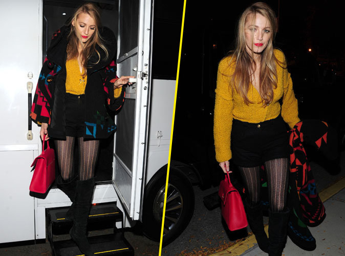 Blake Lively : en mode color block � New York !