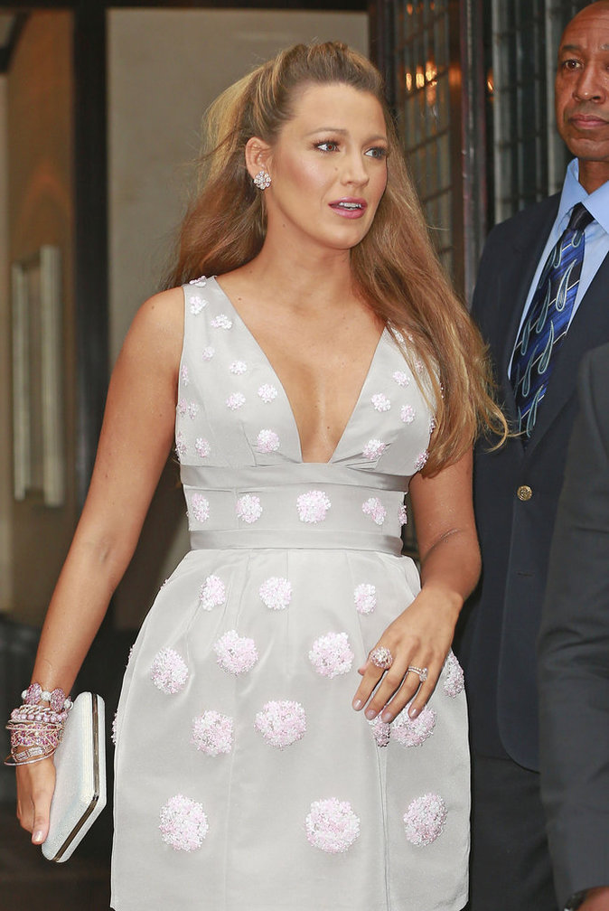 Blake Lively à New York le 13 juillet 2016