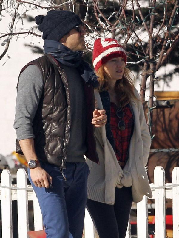 Blake Lively et Ryan Reynolds à Aspen (décembre 2012)