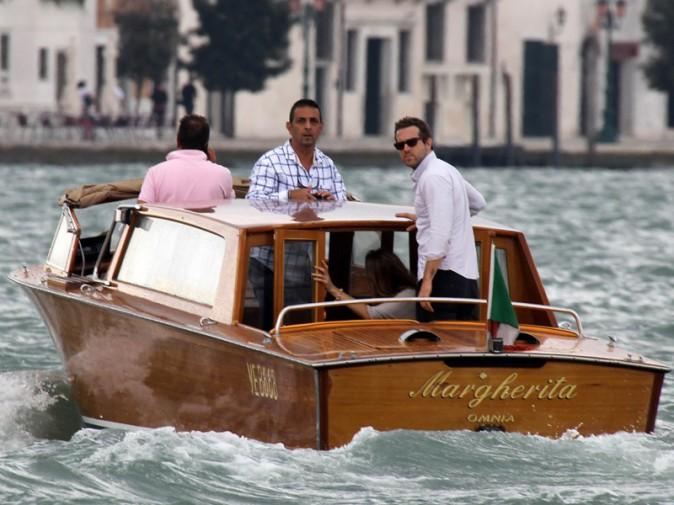 Blake Lively et Ryan Reynolds à Venise (août 2012)