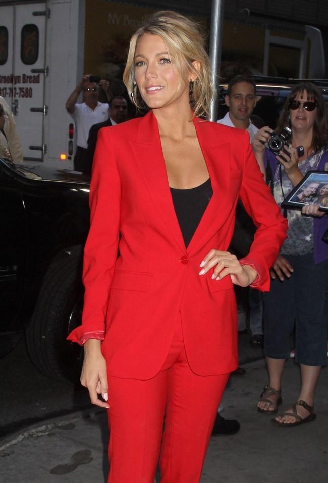 Blake Lively le 27 juin 2012 à New York