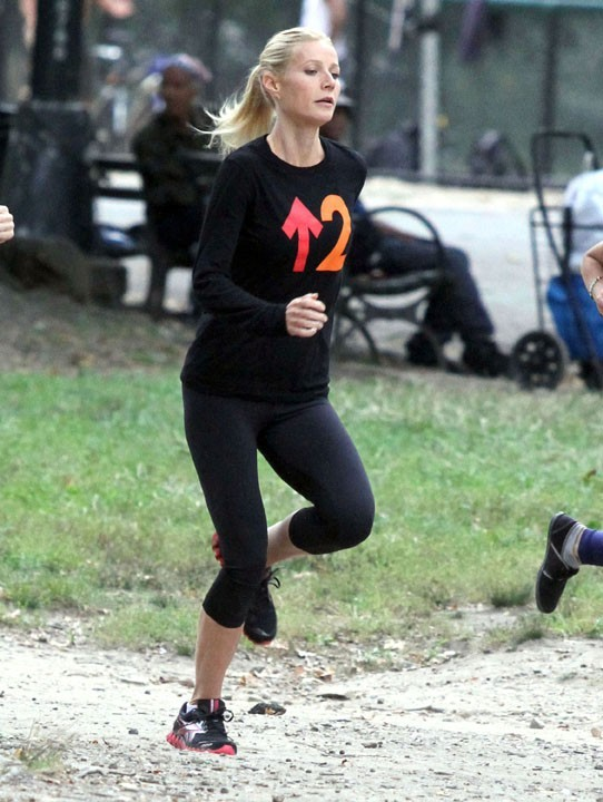 Gwyneth Paltrow, adepte de la course à pied !