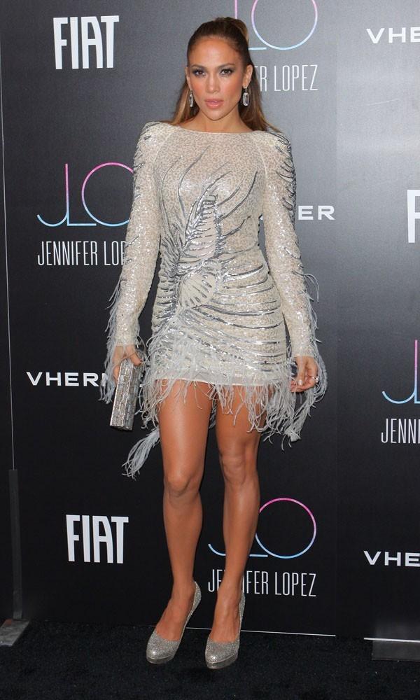 Jennifer Lopez fait de la danse dès qu'elle le peut