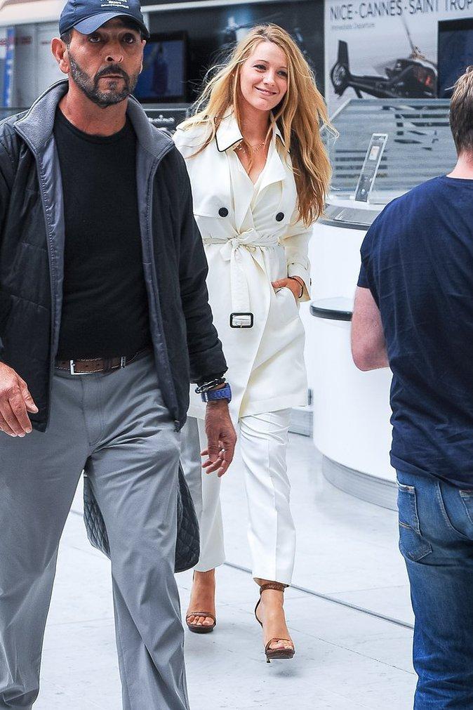 Blake Lively à Nice ce lundi 9 mai