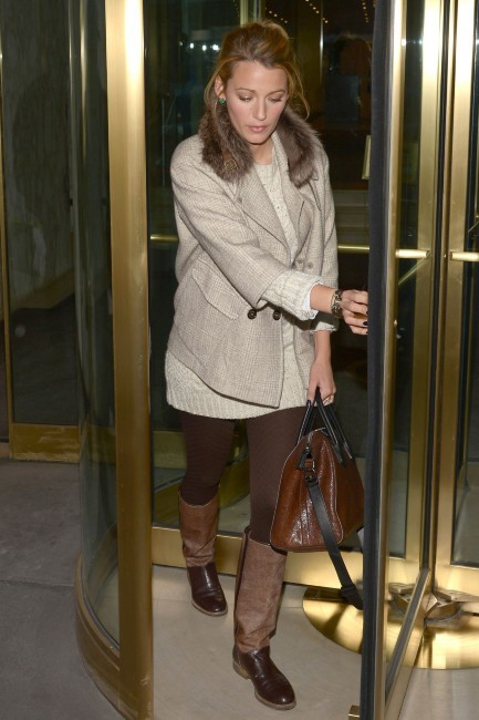 Blake Lively le 4 février 2013 à New York