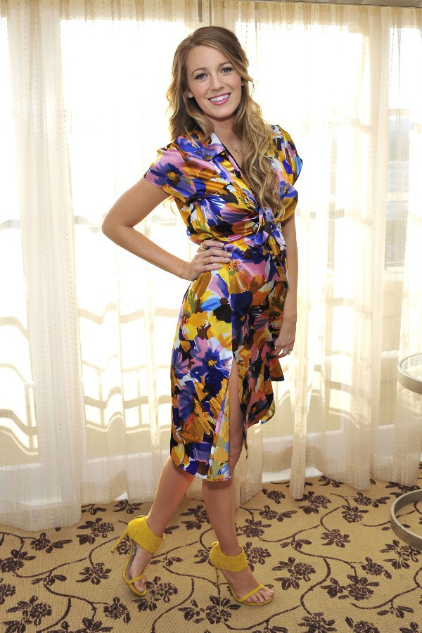 Blake Lively à Los Angeles le 14 avril 2015