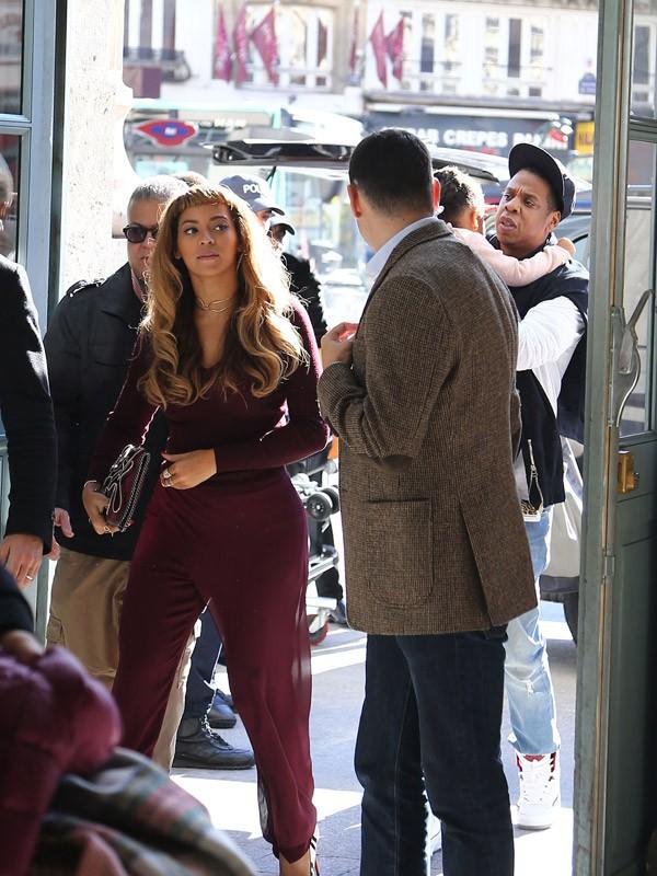 Beyoncé, Jay-Z et leur fille Blue-Ivy