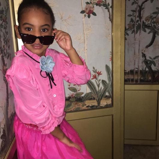 Blue Ivy sur l'instagram de sa tante Solange Knowles