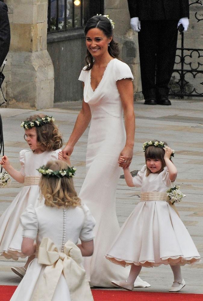Photos : resplendissante le jour du mariage de Kate